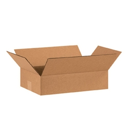 "15104 Flat Corrugated Boxes (15"" x 10"" x 4"")"
