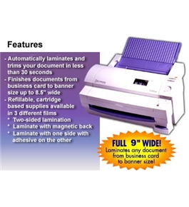 "Brother LX900 9"" Cold Laminator 1 Year Limited Warranty"