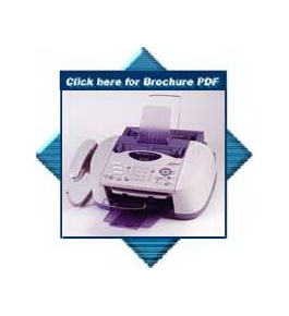 Brother Intellifax 1800c Color Inkjet Fax/Copier