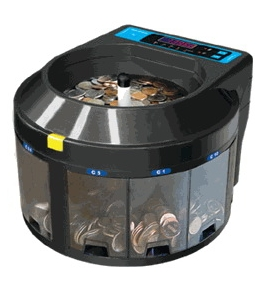 CANADIAN COIN-Digital Speed Coin/Counter/Sorter-ELECTRIC/600 Per Min. GB820