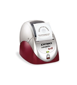 DYMO Labelwriter 330 Turbo Printer, Silver/Maroon New