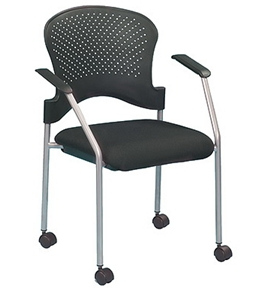 Breeze with Casters FS8270 Stack Side Chair