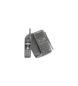Panasonic KXTC1713B Cordless Phone with Call Waiting Caller ID