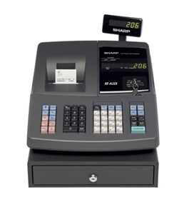 Sharp XE-A22S 99 Departments Cash Register with Microban