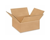 10104 Flat Corrugated Boxes (10- x 10- x 4-)