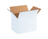 "11812W White Corrugated Boxes (11 1/4"" x 8 3/4"" x 12"")"