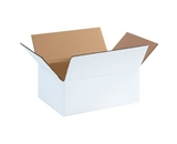 "1184SCW White Corrugated Boxes (11 3/4"" x 8 3/4"" x 4 3/4?)"