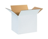 "121010W White Corrugated Boxes (12"" x 10"" x 10"")"