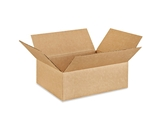 12104 Flat Corrugated Boxes (12- x 10- x 4-)