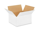 12106W White Corrugated Boxes (12- x 10- x 6-)