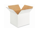 "121210W White Corrugated Boxes (12"" x 12"" x 10"")"