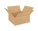 12125 Flat Corrugated Boxes (12- x 12- x 5-)
