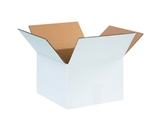 12128W White Corrugated Boxes (12- x 12- x 8-)