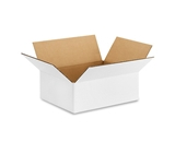 "1294W White Corrugated Boxes (12"" x 9"" x 4"")"