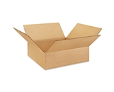 13134 Flat Corrugated Boxes (13- x 13- x 4-)