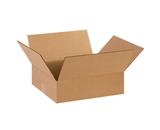 14124 Flat Corrugated Boxes (14- x 12- x 4-)