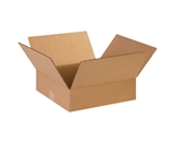 14143 Flat Corrugated Boxes (14- x 14- x 3-)