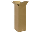 141440 Tall Corrugated Boxes (14- x 14- x 40-)