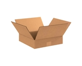 15153 Flat Corrugated Boxes (15- x 15- x 3-)