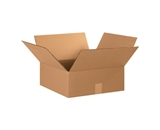 15156 Flat Corrugated Boxes (15- x 15- x 6-)