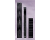 "25-7G - Time Card Rack, 25 Capacity, 7"" card, Charcoal Gray"