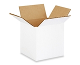 "444W White Corrugated Boxes (4"" x 4"" x 4"")"