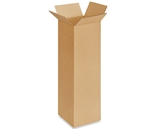 6620 Tall Corrugated Boxes (6- x 6- x 20-)