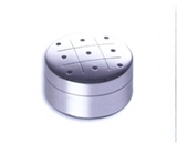 Blomus Stainless Steel Travel Game (Tic Tac Toe)
