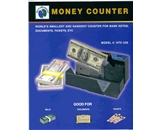 Accubanker Compact Currency/Ticket counter