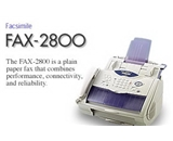 Brother FAX2800 Plain Paper Laser Factory Serviced