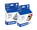 Epson T026201 and T027201 Ink Cartridge Twin Pack