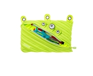 3 Ring Pouch, Bright Lime